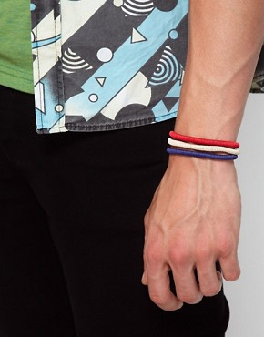 Image 3 ofIcon Brand Cord Bracelet Pack