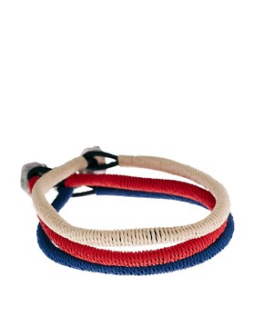 Image 1 ofIcon Brand Cord Bracelet Pack