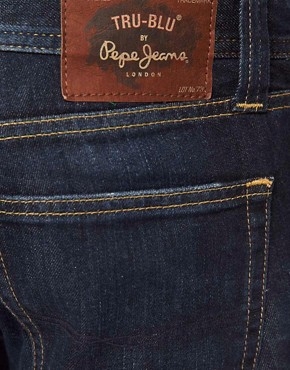 Image 4 ofPepe Cane Jeans Slim Fit True Blue Wash