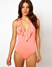 Zinke Weekend Frill One Piece Simwsuit