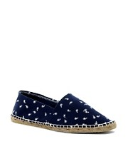 ASOS Espadrilles With Disty Print