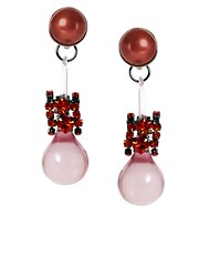 ASOS Pearl Jewel Bauble Earring