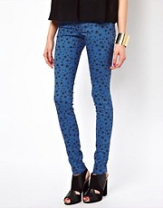 Jeggings con estampado de estrellas Lovely de Vero Moda