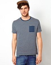 Bellfield - T-shirt a righe