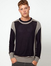 ASOS Panelled Jumper