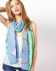 Pieces Gilje Long Scarf