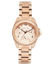 Michael Kors Blair Rose Gold Watch