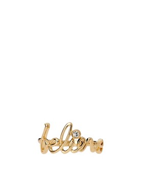 Image 1 of Disney Couture Exclusive To ASOS Believe Ring