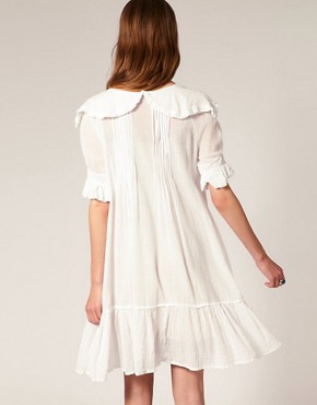 Image 2 ofSestra Moja Exclusive Milla Dress With Frill Collar