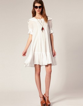 Image 4 ofSestra Moja Exclusive Milla Dress With Frill Collar