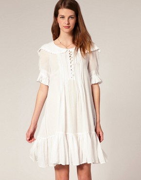 Image 1 ofSestra Moja Exclusive Milla Dress With Frill Collar