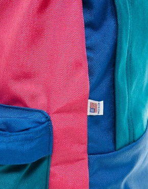 Image 4 ofAmerican Apparel Colourblock Nylon Backpack