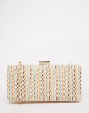 Oasis Straw Box Clutch