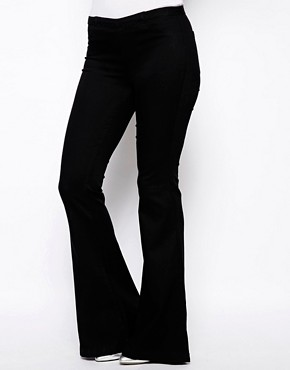 Blank NYC Skinny Flared Jeans