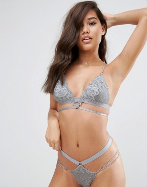 ASOS Juliette Applique Triangle Bra