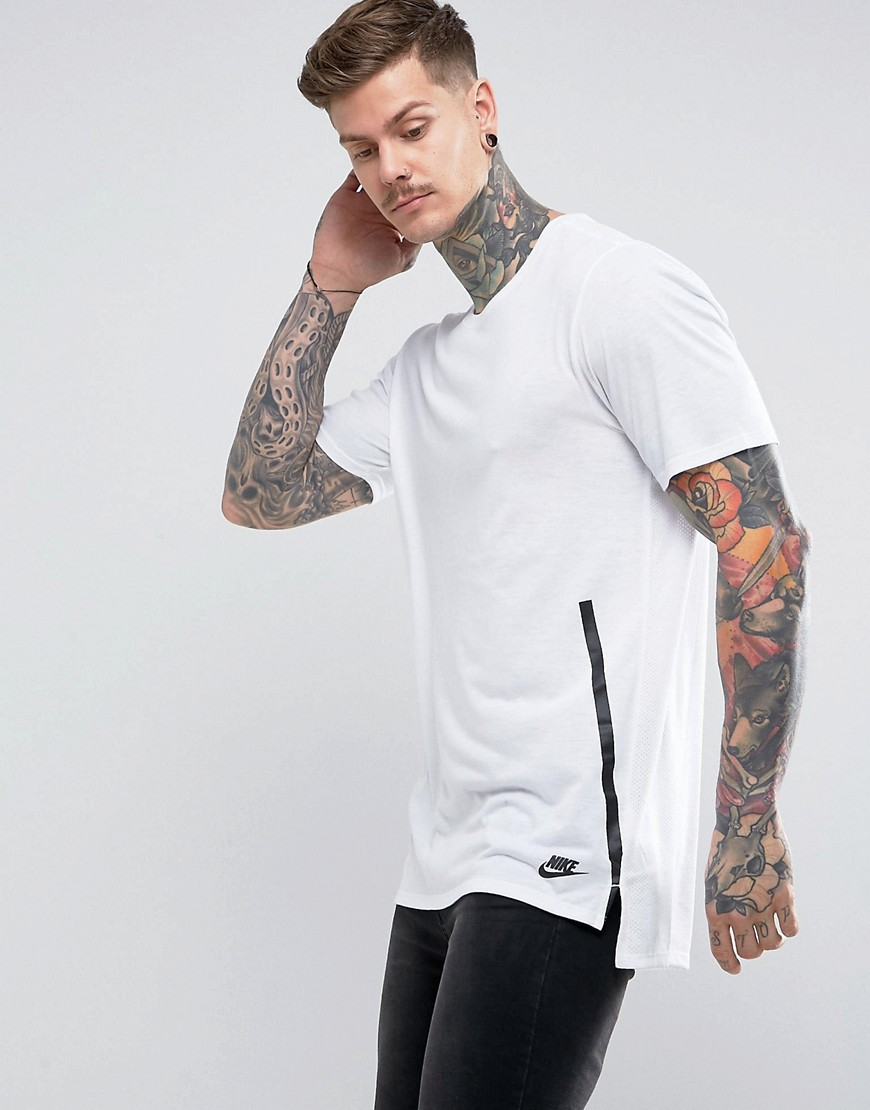 Nike Droptrail T-Shirt In White 847507-100 - White