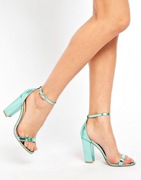 Image 3 ofASOS HOMETOWN Heeled Sandals