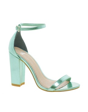 Image 1 ofASOS HOMETOWN Heeled Sandals