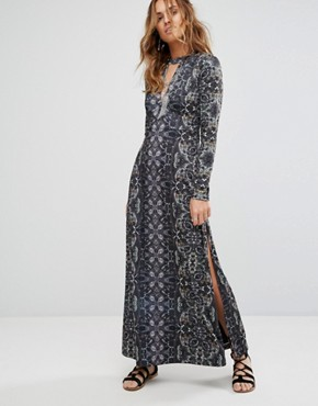 Free People Cabaret Long Sleeve Dress