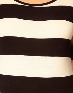 Image 3 ofASOS Maternity Exclusive Stretch Top In Wide Stripe