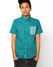 Bellfield Shirt With Diamond Print
