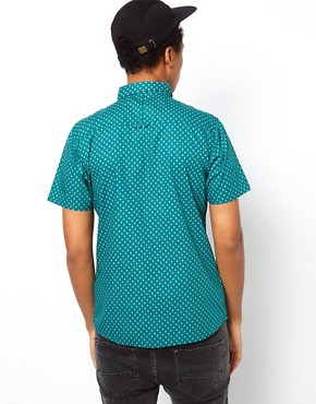 Image 2 ofBellfield Shirt With Diamond Print