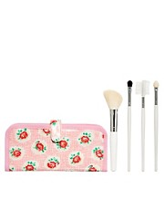 Cath Kidston Lattice Rose Mini Make-Up Brush Set