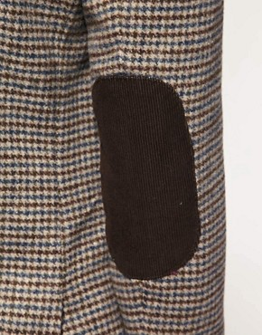 Image 3 ofASOS Slim Fit Tweed Check Blazer