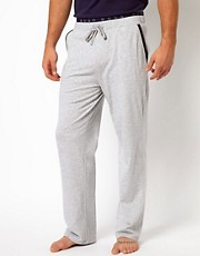 Boss Black Double Waistband Lounge Pants