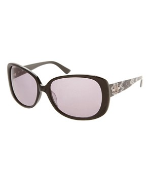 Image 1 ofMissoni Sunglasses With Zig Zag Print Arms