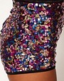 Image 3 ofASOS Knicker Shorts in Pink Sequins