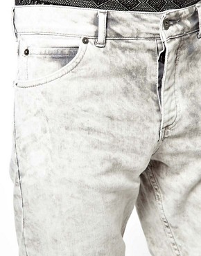 Image 3 ofASOS Denim Shorts With Acid Wash