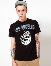 Trainerspotter T-shirt Los Angeles Grenade
