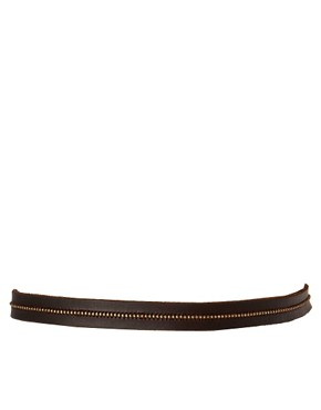 Image 3 ofUrban Code Leather Beaded Belt
