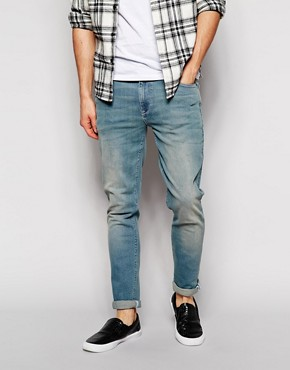 ASOS Super Skinny Jeans In Light Wash