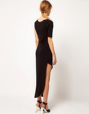 Image 2 ofFactory By Erik Hart Maxi Dress Asymetric
