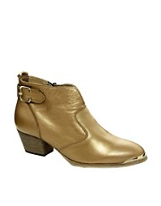 ALDO Cham Beige Ankle Boots
