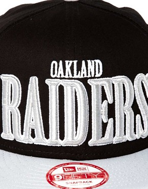 Image 2 ofNew Era 59Fifty Cap The Raiders