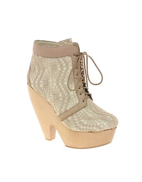 Image 1 of Messeca Julie Crochet Ankle Boots