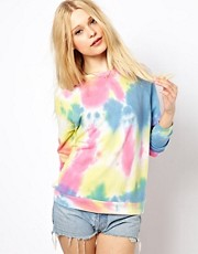 River Island - Felpa con tie-dye