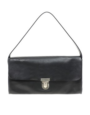 Image 1 ofAlly Capellino Leather Lucy Oversized Clutch