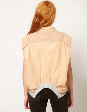 Image 2 ofUrban Code Loose Rib Gilet