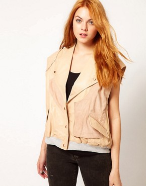 Image 1 ofUrban Code Loose Rib Gilet