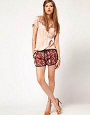 Maison Scotch Ikat Shorts