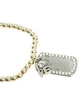 Image 4 ofBibi Bijoux Bracelet with Love Charm