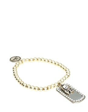 Image 1 ofBibi Bijoux Bracelet with Love Charm