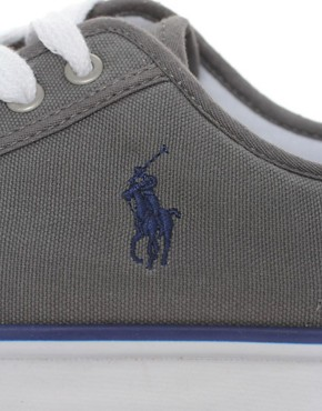 Image 2 ofPolo Ralph Lauren Chancery Canvas Plimsolls
