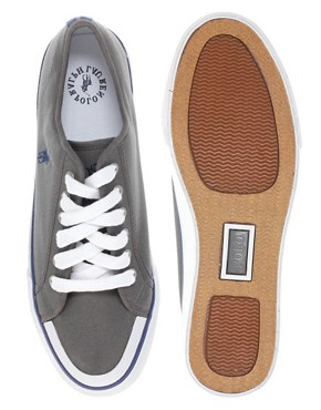 Image 3 ofPolo Ralph Lauren Chancery Canvas Plimsolls