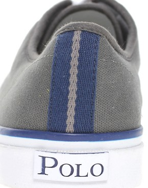 Image 4 ofPolo Ralph Lauren Chancery Canvas Plimsolls