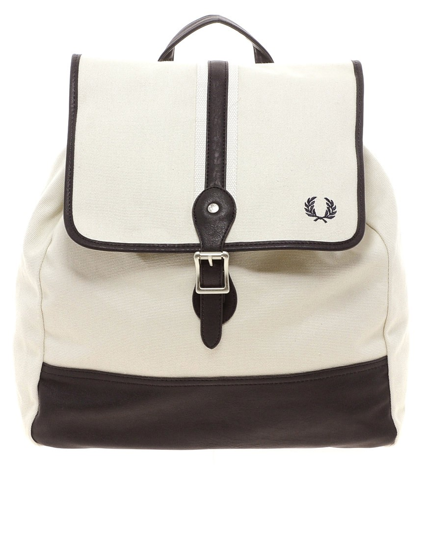 Image 1 of Fred Perry Cotton Backpack